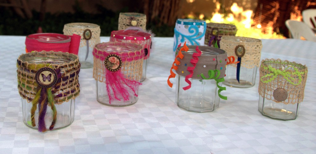 Customiser des pots en verre megacrea blog - Customiser des pots en verre ...