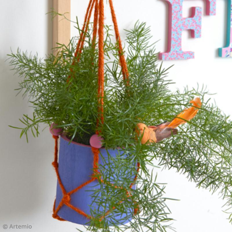 Faire Une Suspension En Macrame Pour Un Pot De Fleur Ou Une Plante