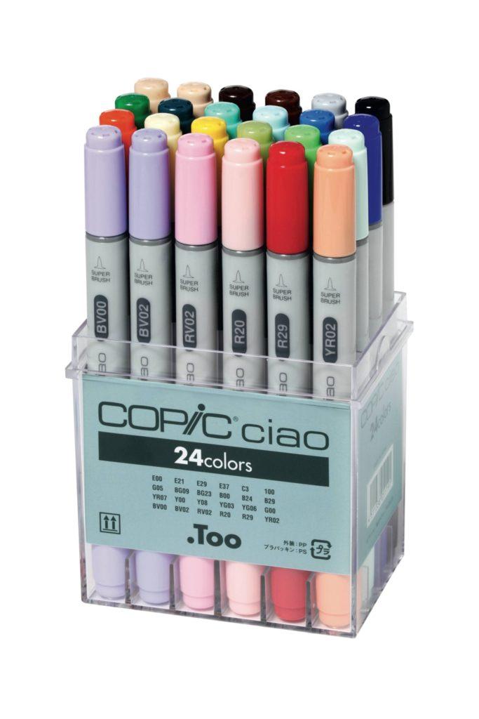 Copic Ciao, quelles sont les différences entre marqueurs ?