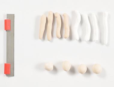 Réaliser un support à bijoux imitation bois flotté en Fimo - étape 2