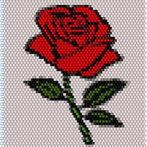 tissage brick stitch