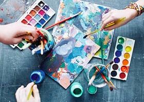 Les Differents Types De Peinture Et Le Dessin