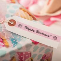 imprimer étiquette pour emballage cadeau