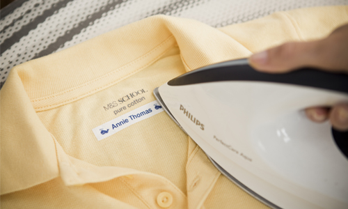 imprimante étiquette vêtement
