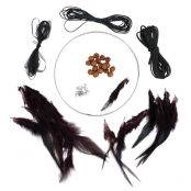 Kit Attrape-rêve Dreamcatcher Rond 15 cm