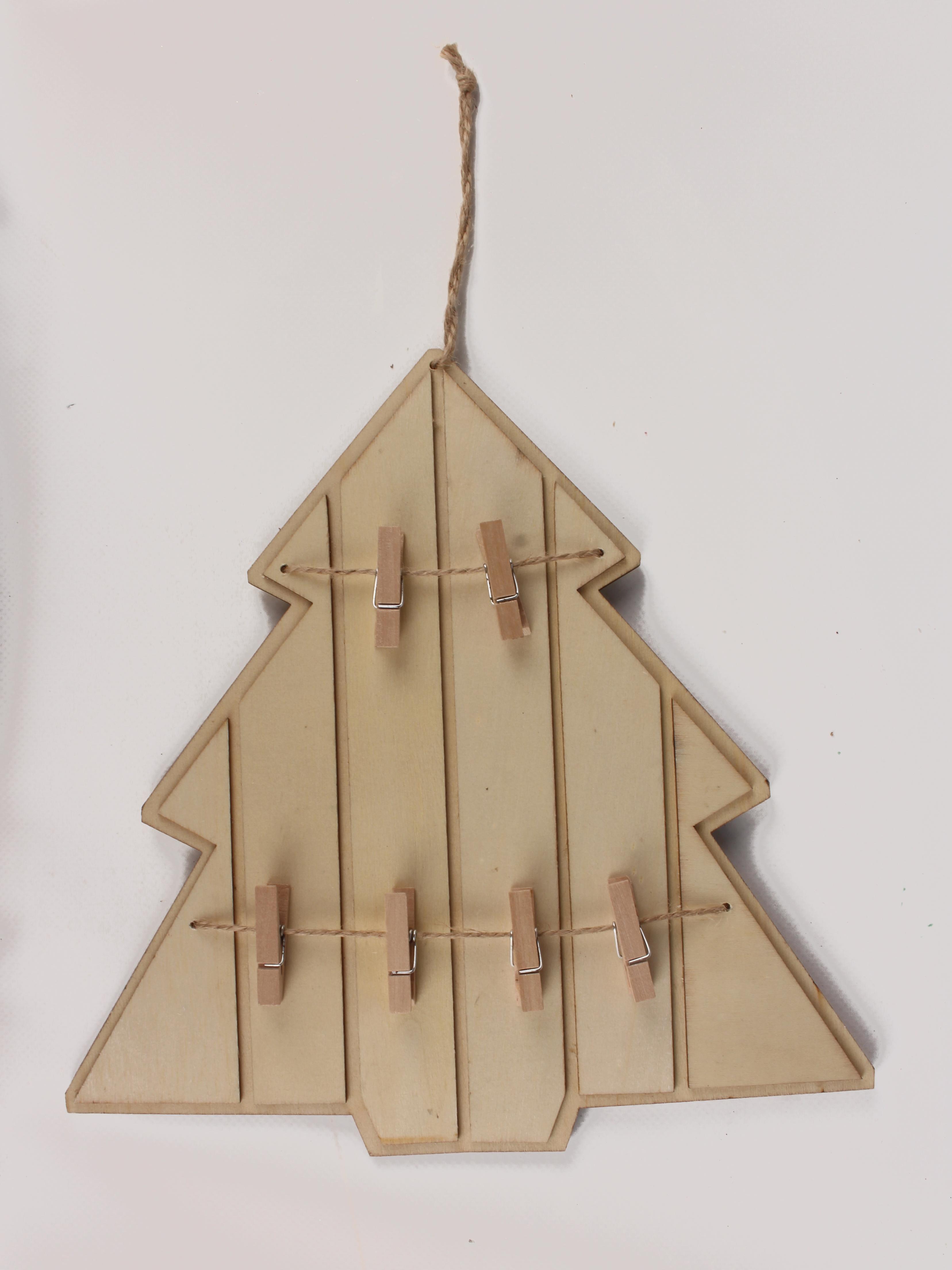 Fabriquer Un Pele Mele pêle-mêle en bois sapin 24,5x25 cm
