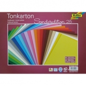 Papier cartonné 35x25 cm 220g 25 couleurs assorties