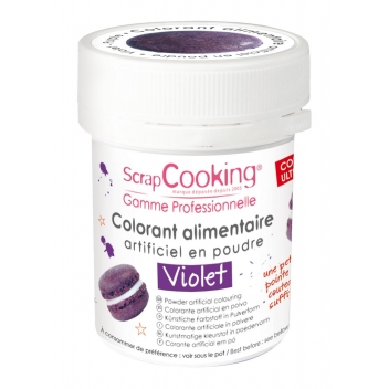4031 - 3700392440312 - Scrapcooking - Colorant alimentaire (artificiel) Violet - France