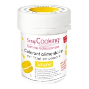 Colorant alimentaire (artificiel) Jaune