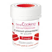 Colorant alimentaire (artificiel) Rouge