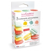 Colorants alimentaires (artificiel) Vert corail jaune