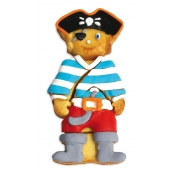 Moule en silicone puzzle pirate