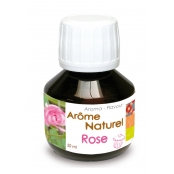 Arôme alimentaire naturel Rose 50 ml