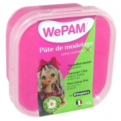 Porcelaine froide à modeler WePam 145 g Rose fuchsia