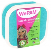 Porcelaine froide à modeler WePam 145 g Turquoise nacré