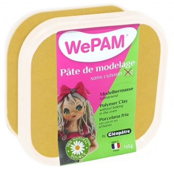 PFW872145 - 3134725006287 - WePam - Porcelaine froide à modeler WePam 145 g Or - France - 2