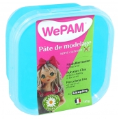 Porcelaine froide à modeler WePam 145 g Turquoise