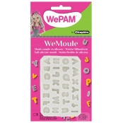 Moule en silicone (Push mould)WeMoule Alphabet