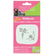Moule en silicone (Push mould)WeMoule Anges et cupidons