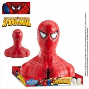 Figurine tirelire Spiderman + sucettes