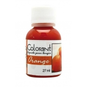 Colorant liquide pour bougie 27 ml Orange