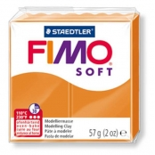 Pâte Fimo 57 g Soft Orange clair 8020.41