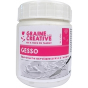 Gesso en pot blanc 250 ml