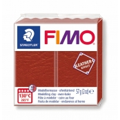 Pâte Fimo Cuir 57 g Leather Effect Rouille 8010-749