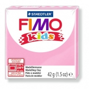 Pâte Fimo Kids 42 g Rose 8030.25