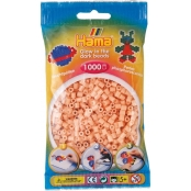 1 000 perles standard MIDI (Ø5 mm) phosphorescent rose