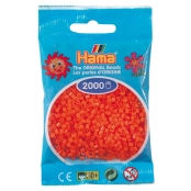 2 000 perles mini (petites perles Ø2,5 mm) orange