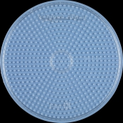 Plaque Rond (Grand) transparent pour perles standard (Ø5 mm)
