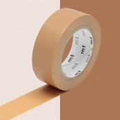 Masking Tape MT 1,5 cm Uni marron