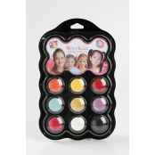 Palette Maquillage enfant 9 couleurs Princesse
