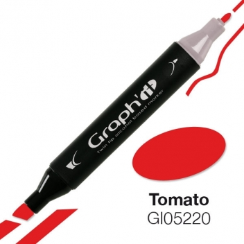 GI05220 - 3700010052200 - Graph it - Marqueur à l'alcool Graph'it 5220 Tomato
