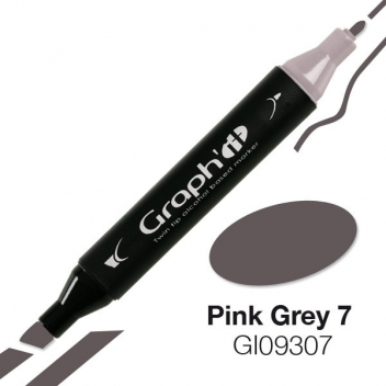 GI09307 - 3700010093074 - Graph it - Marqueur à l'alcool Graph'it 9307 Pink Grey 7