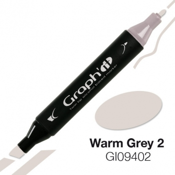 GI09402 - 3700010094026 - Graph it - Marqueur à l'alcool Graph'it 9402 Warm Grey 2