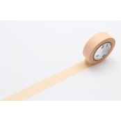 Masking Tape MT 1,5 cm Uni Pastel orange