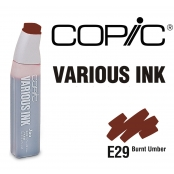 Encre Various Ink pour marqueur Copic E29 Burnt Umber