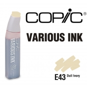 Encre Various Ink pour marqueur Copic E43 Dull Ivory