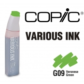 Encre Various Ink pour marqueur Copic G09 Veronese Green