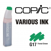 Encre Various Ink pour marqueur Copic G17 Forest Green