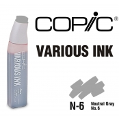 Encre Various Ink pour marqueur Copic N6 Neutral Gray N°6