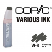 Encre Various Ink pour marqueur Copic W8 Warm Gray N°8