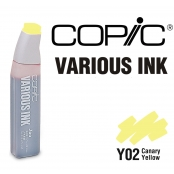Encre Various Ink pour marqueur Copic Y02 Canary Yellow