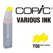 Encre Various Ink pour marqueur Copic Y08 Acid Yellow