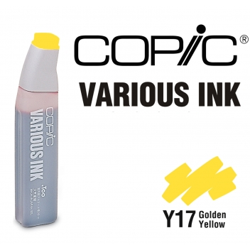 CEY17 - 4511338005538 - Copic - Encre Various Ink pour marqueur manga Copic Y17 Golden Yellow - 2