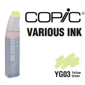 Encre Various Ink pour marqueur Copic YG03 Yellow Green