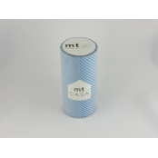 Masking Tape MT Casa 10 cm Rayé stripe light blue