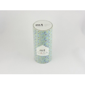Masking Tape MT Casa 10 cm Carreaux tile blue